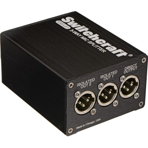 Switchcraft RMAS1 Single Channel Passive Microphone RMAS1