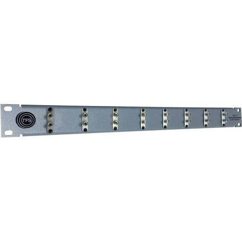 Tactical Fiber Systems 8-Port Duplex ST Patch Panel 2STPATPAN8