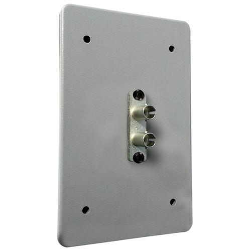 Tactical Fiber Systems Standard Wall Plate with Duplex ST 2STWP