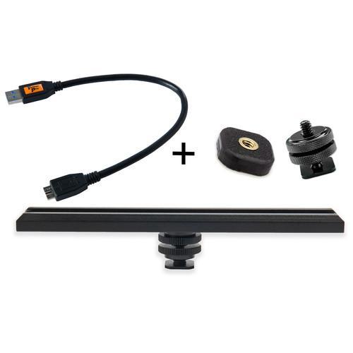Tether Tools CamRanger Camera Mounting Kit with USB RS317BLKKT