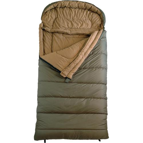 TETON Sports Celsius Sleeping Bag XL -18 (Green, Left-Zip) 115L