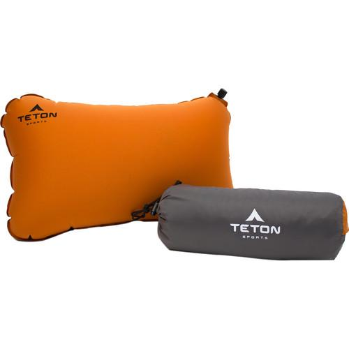 TETON Sports Comfortlite Self-Inflating Pillow (Orange) 1039