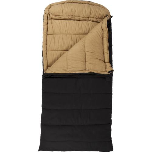TETON Sports Deer Hunter Sleeping Bag (Black, Left-Hand) 1027L