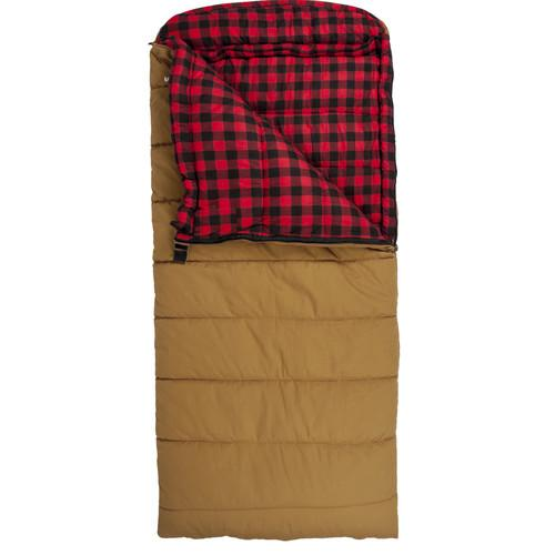 TETON Sports Deer Hunter Sleeping Bag (Brown, Right-Hand) 1025R