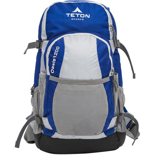 TETON Sports Oasis1200 Hydration Backpack (Blue/Gray) 1089