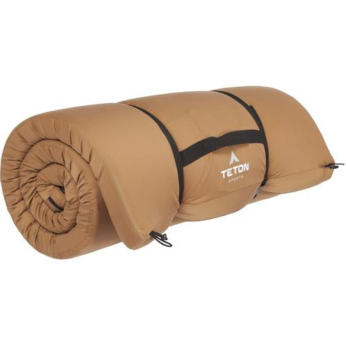 TETON Sports  Outfitter XXL Camp Pad (Brown) 130