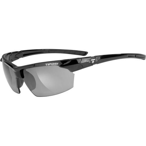 Tifosi Jet Sunglasses (Gloss Black Frame - Smoke Gray) 210400270