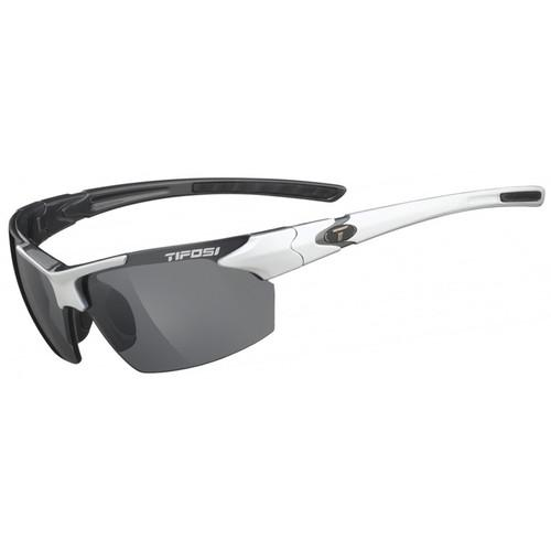 Tifosi Jet Sunglasses (White Frames, Smoke Lenses) 0210405870