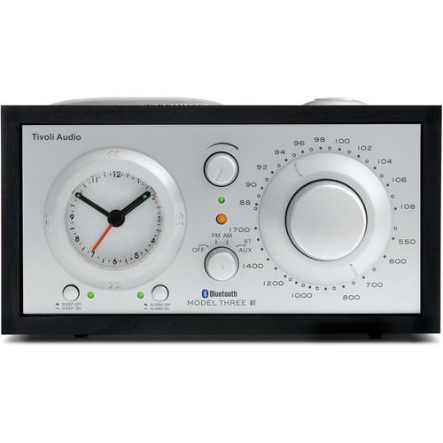 Tivoli  Model Three BT (Black Ash/Silver) M3BTBLK