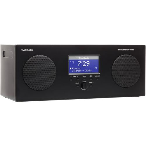 Tivoli Music System Three Portable Hi-Fi System MSY3BLK