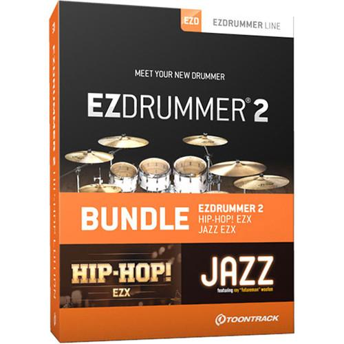 Toontrack EZdrummer 2 Hip-Hop Edition - Virtual Drums TT058SN