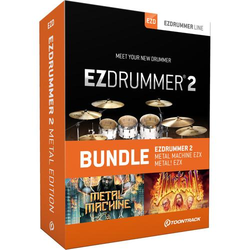 Toontrack EZdrummer 2 Metal Edition - Virtual Drum TT055SN
