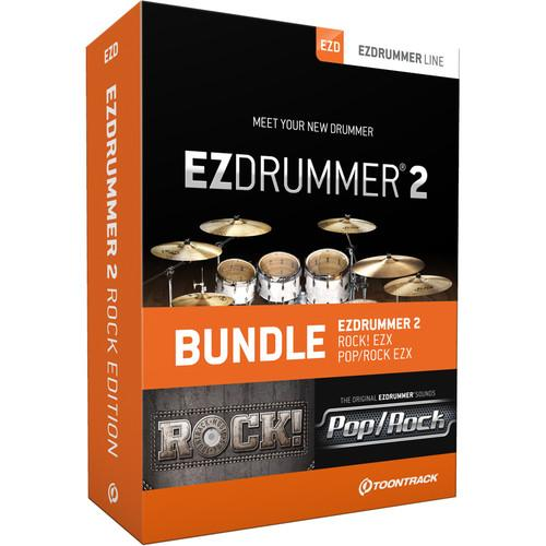Toontrack EZdrummer 2 Rock Edition - Virtual Drum Module TT056SN