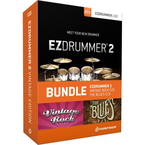 Toontrack EZdrummer 2 Vintage Edition - Virtual Drum TT057SN