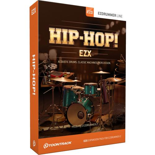 Toontrack Hip Hop! EZX - Expansion Pack for EZdrummer 2 TT308SN