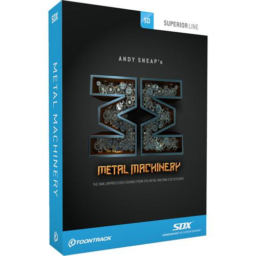 Toontrack Metal Machinery SDX - Expansion Sounds TT302