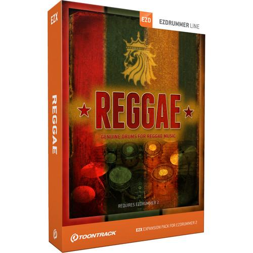 Toontrack Reggae EZX - Expansion Pack for EZdrummer 2 TT295SN