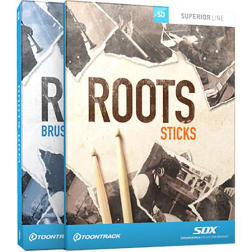 Toontrack Roots SDX Bundle - Sound Expansion for Superior TT176