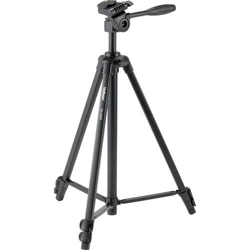 Velbon EX-330 Q Aluminum Tripod with 3-Way Pan/Tilt Head EX 330Q