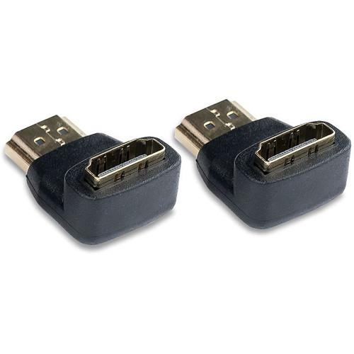 Video Devices Right Angle HDMI Type-A Male Plug to PIX-HDMI- R