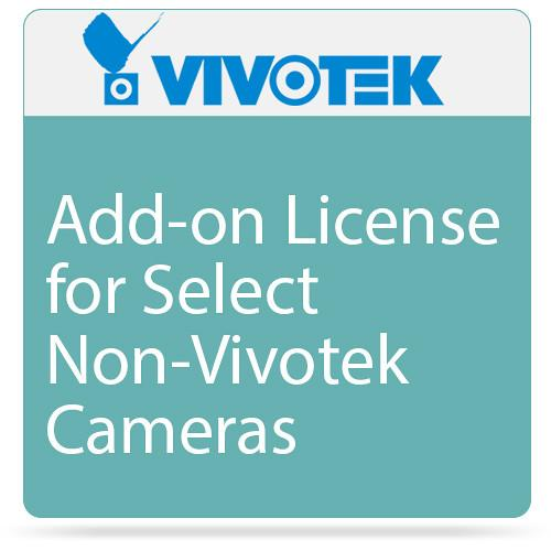 Vivotek Add-on License for Select Non-Vivotek Cameras 715001500