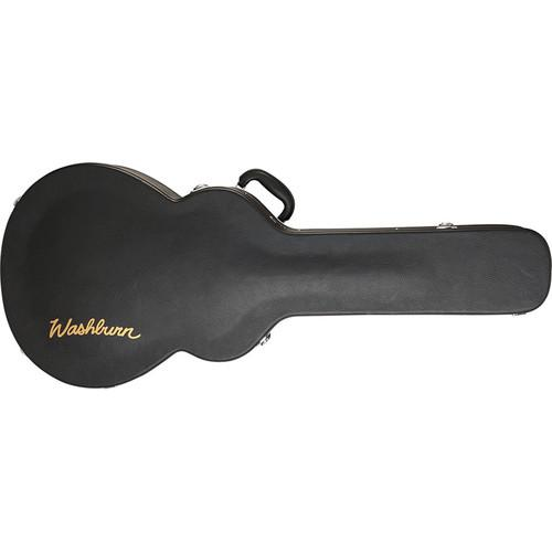 Washburn GC78 Hardshell Jazz Hollow-Body Guitar Case (Black)