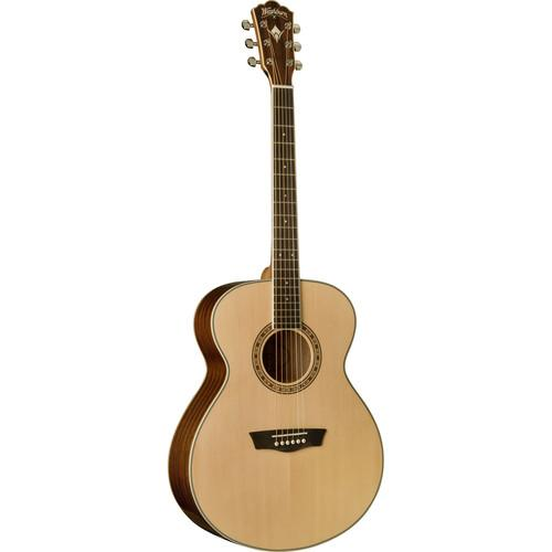 Washburn Heritage 10 Series WG10S Acoustic Guitar (Natural)
