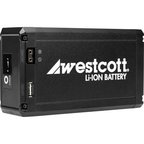 Westcott Portable Li-Ion Battery for Flex LED Mat 7424
