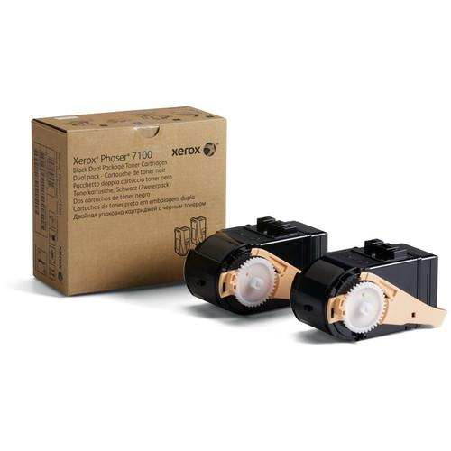 Xerox Black Toner Cartridge for Phaser 7100 (2-Pack) 106R02605
