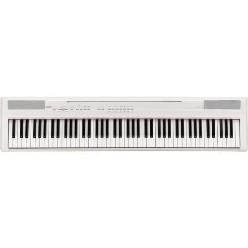Yamaha P-105 88-Key Digital Piano & Stand Kit (White)