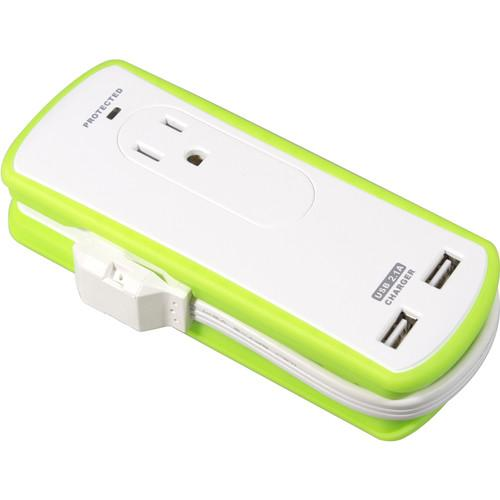 Yubi Power EZ to Go Travel Power Strip YBS1P2US21C1