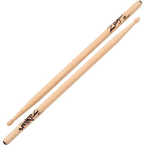 Zildjian 5B Hickory Drumsticks with Tear Drop Wood Tips 5BWA-1