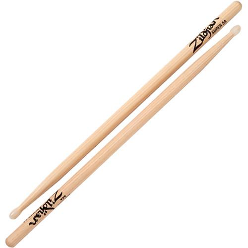 Zildjian Super 5A Nylon Natural Drumsticks (1 Pair) S5ANN-1
