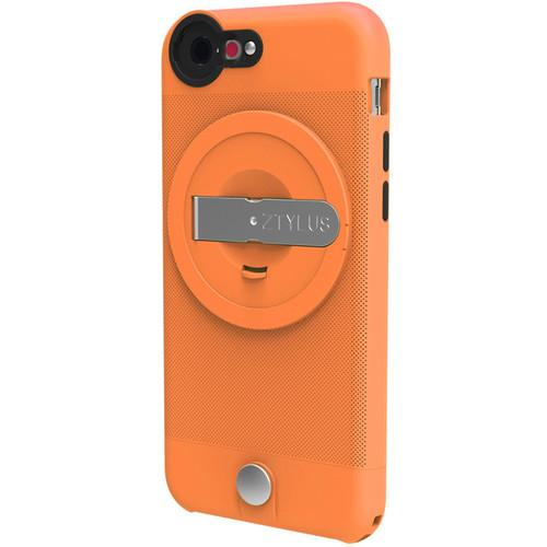 Ztylus Lite Case for iPhone 6 (Orange) with Revolver 4-in-1 Lens