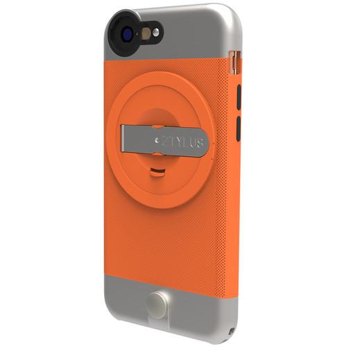 Ztylus Metal Case for iPhone 6 (Orange) with Revolver 4-in-1