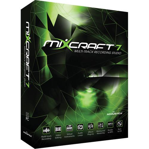 Acoustica Mixcraft 7 - Multi-Track Recording and ACTA-72