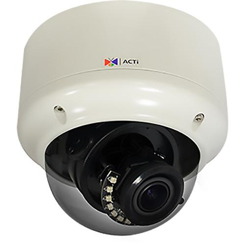 ACTi 3MP Outdoor Weatherproof Vandal Resistant Network Zoom A81
