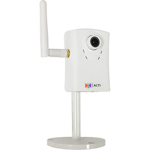 ACTi C11W 1.3MP Cube Network Camera with 3.6mm Fixed Focal C11W