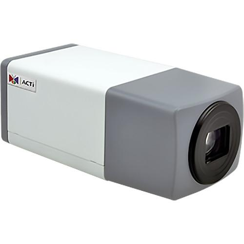 ACTi E219 2MP Day/Night PoE Indoor/Outdoor Zoom Box Camera E219