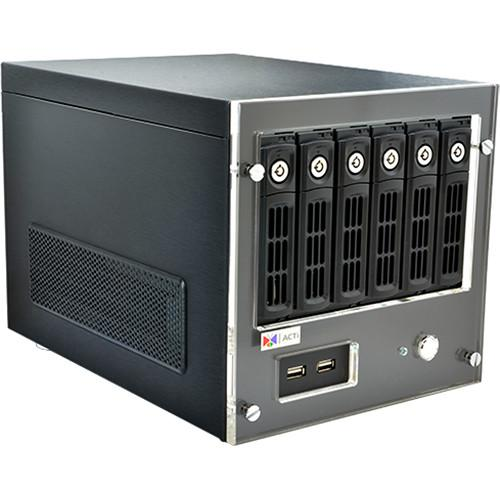 ACTi INR-340 64-Channel 6-Bay RAID Tower Standalone NVR INR-340