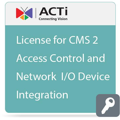 ACTi License for CMS 2 Access Control and Network I/O LEXD2000