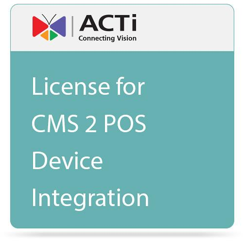 ACTi License for CMS 2 POS Device Integration LPOS2000