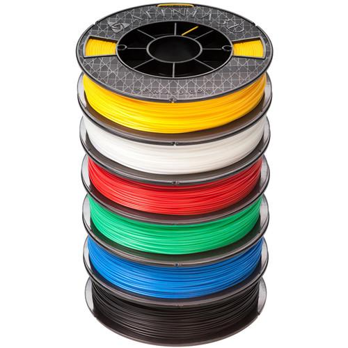 Afinia 1.75mm ABS Plus Premium Filament PLUS500-ABS-6PACK
