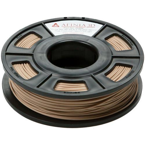 Afinia Specialty PLA Filament for H-Series AF-PLA-1.75-250-WOOD