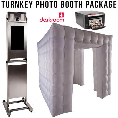 Airbooth Turnkey Photo Booth Package (Stainless Steel) 2