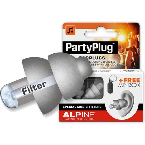 Alpine Hearing Protection PartyPlug Music AMS-PARTYPLUG-GRY