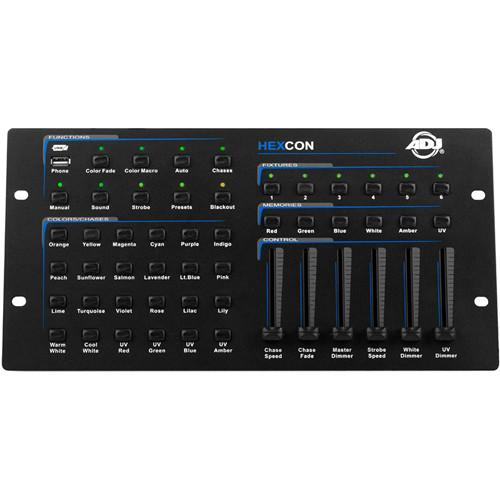 American DJ Hexcon 36-Channel DMX Controller for Hex HEXCON