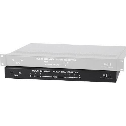 American Fibertek - AFI MRT-880C Eight-Channel Video MRT880C