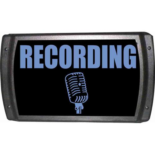 American Recorder OAS-2002-BL RECORDING Sign OAS-2002-BL