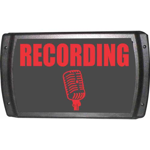 American Recorder OAS-2002-RD RECORDING Sign OAS-2002-RD